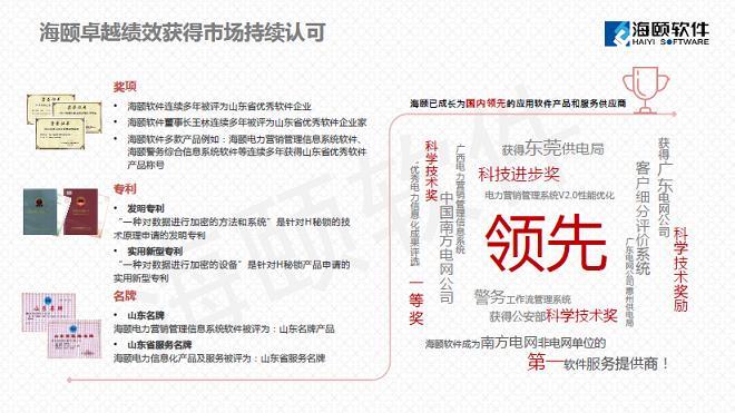 """中国烟台制造业与互联网融合创新高峰论坛--《互联网的""""智""""造转型与互联创新》海颐软件PPT分享"""