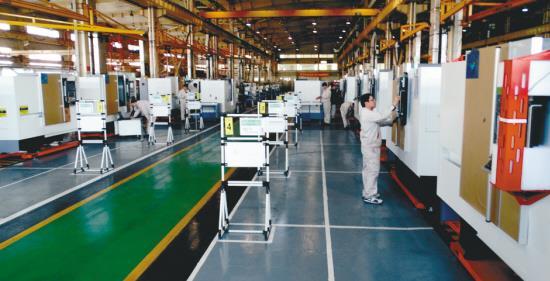 """机床机械行业智能工厂系列(一):沈阳机床打造""""未来制造""""样本"""