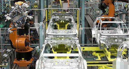 汽车行业智能工厂系列(三):奔驰德国工厂机器人生产线