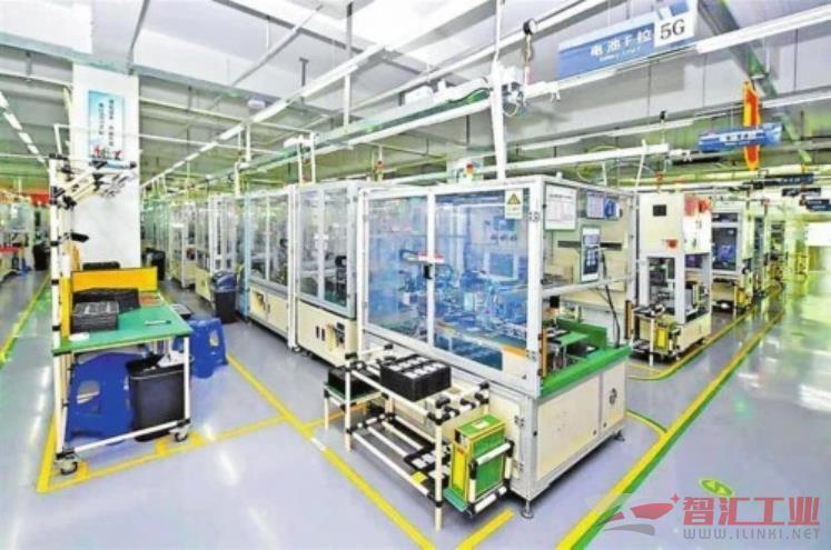 深圳首条5G+工业互联网产线在宝安稳定投产
