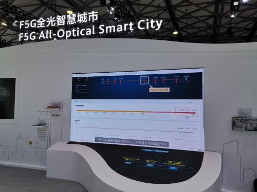 全光自动驾驶网络,共建F5G全光智慧城市