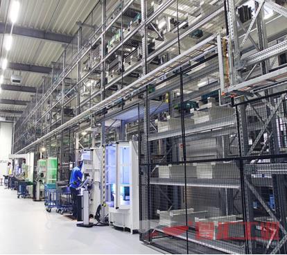 西派集团联合Fastems建立高端柔性生产线