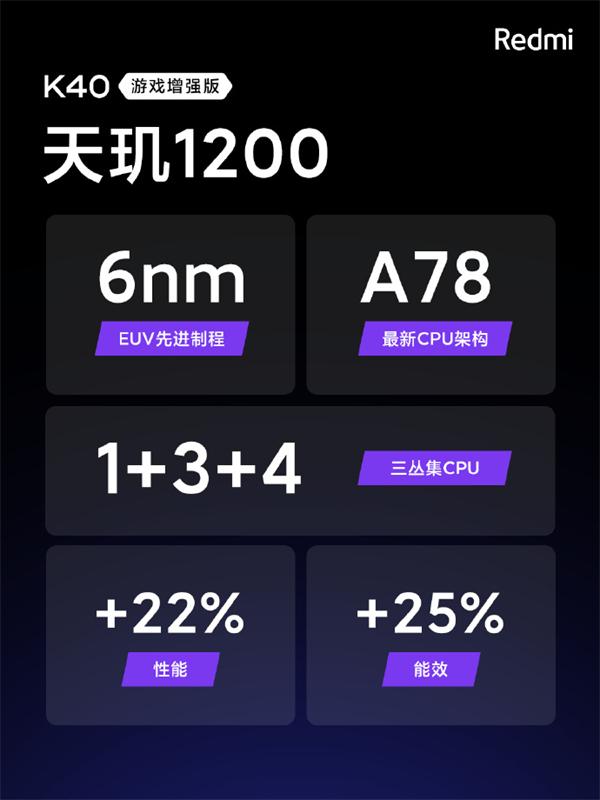 Redmi用天玑1200打造出硬核游戏手机,K40游戏增强版全面刷新体验