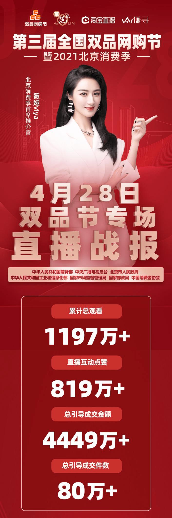 谦寻斩获 2021淘宝直播盛典26项大奖,当晚商务部再度携手薇娅直播间