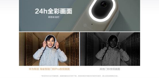 华为智选 海雀智能门铃Pro开启预售  看得见 能沟通 门前看家神器来啦!
