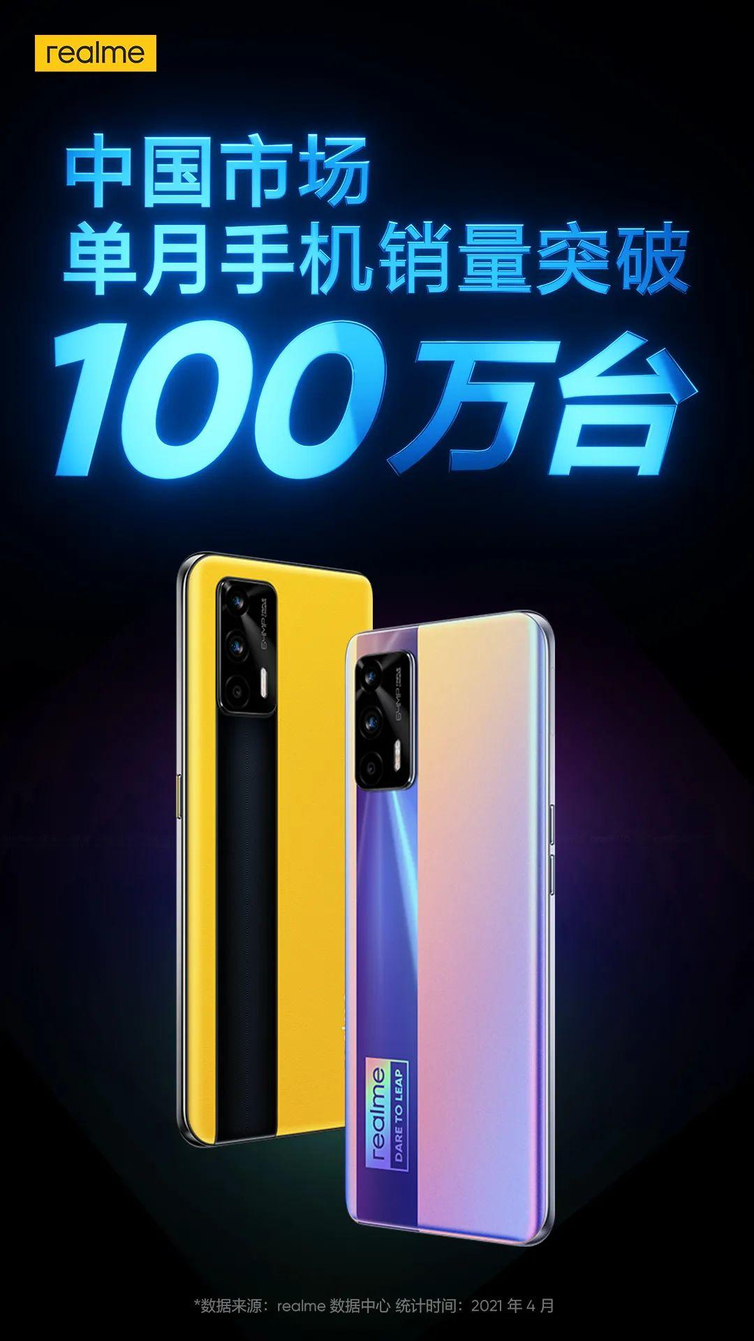 内卷的中国手机市场 却杀出了越级成长的realme
