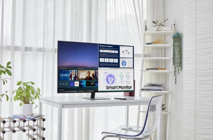 三星发布智能显示器 工作娱乐两兼顾