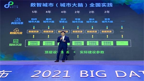 """整体智治高效协同 数梦工场""""数智城市指标系统""""于2021数博会正式发布"""