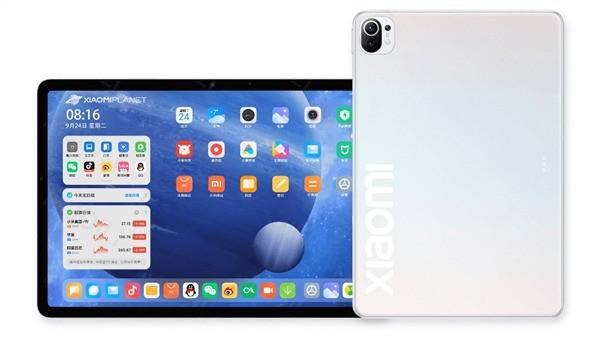 小米平板 5:类似苹果iPad Pro直角侧边设计 有望7月面市