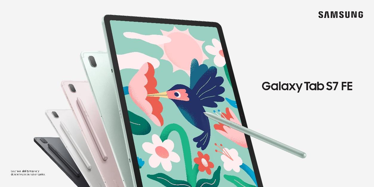 三星Galaxy Tab平板家族添新成员S7 FE和A7 Lite