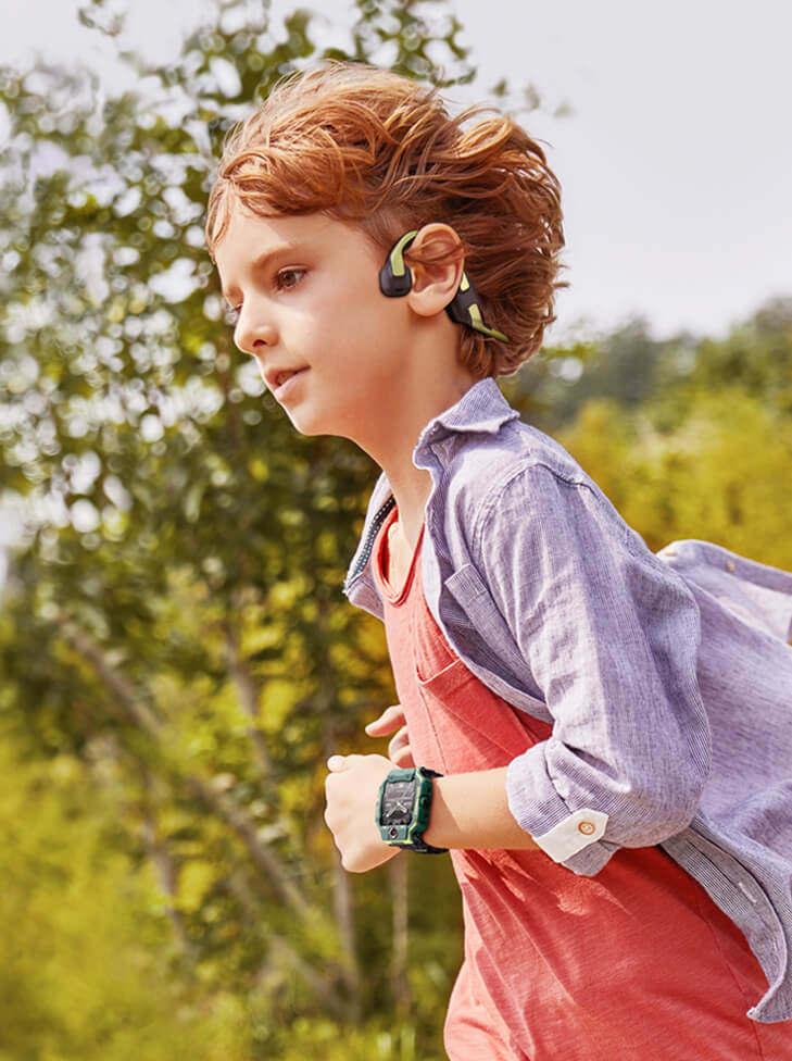 小天才护耳耳机体验分享!外耳佩戴,孩子上网课,用着更安全